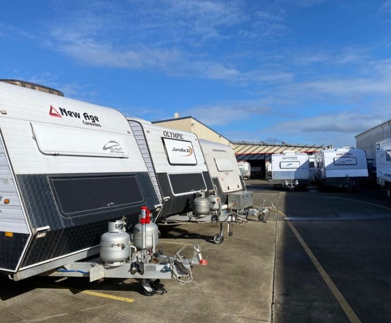 Caravans for sale at ABCO Caravans in Coffs Harbour